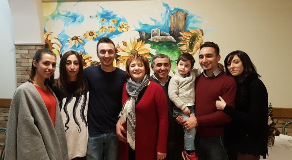 michele verdastro e la sua famiglia