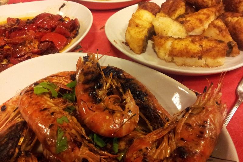 Secondi a base di pesce - Ristorante La Terrazza di Mercato San ...