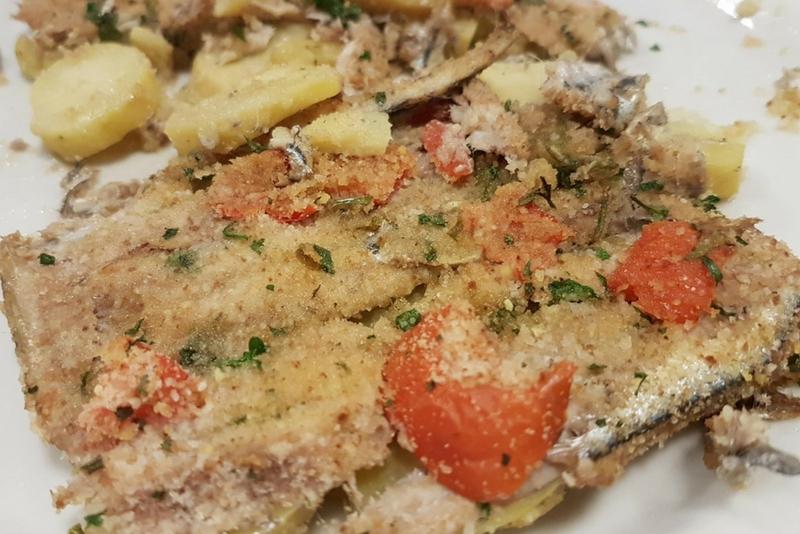pizza-alici-patate-la-terrazza-mercato-san-severino | Ristorante ...