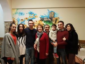 Michele Verdastro e la sua famiglia | La Terrazza trattoria e pizzeria di Mercato San Severino
