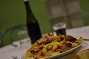 La Terrazza Ristorante Mercato San Severino - Pollo Scucchiato con patate al forno