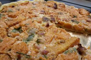Pizza rustica con Carote | La Terrazza Trattoria di Mercato San Severino
