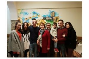 La famiglia di Michele Verdastro al completo