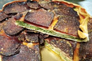 Pizza rustica con bieta e rapa rossa | Come prepararla
